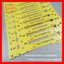 Etiquetas de halogéneo sem fio de alta performance com braçadeiras
