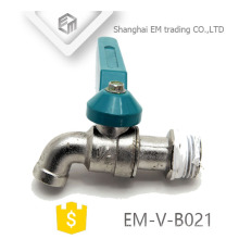 EM-V-B021 Garden irrigation brass bibcock with hose connection