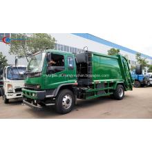 Exportando para o caminhão do compactador do lixo de Myanmar ISUZU 12cbm
