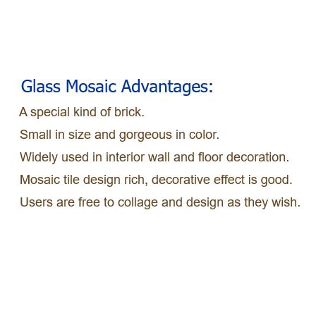 Glass Mosaic Advantages