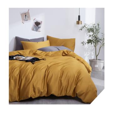 Pure cotton simple bedding cover 60 long staple cotton single quilt cover