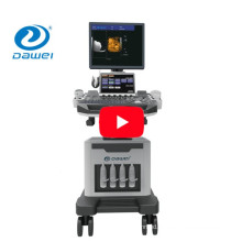 DW-C80 Plus medical equipment trolley 4D color doppler ultrasound price