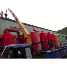 Four économiseur d'énergie municipale de carbonisation de machine de déchets solides fabriqué en Chine