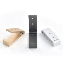 Foldable wall mounted hook brass