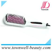 Ionic Heißbürste Haarglätten Pinsel