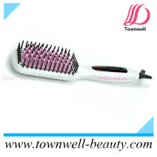 Ionic Hot Brush Hair Straightening Brush