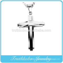 2016 Fashion Cross Jewelry 316l Stainless Steel Unique Mens Western Cross Pendants on Sale