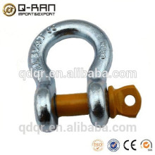 Crane Galvanized Shackle/Drop Forged Crane Galvanized Shackle