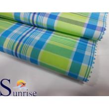 Baumwoll-Nylon-Garn gefärbtes Gewebe (PU-Beschichtung) (SRSCN 049)