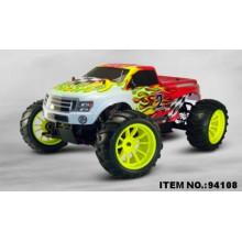 2016 Mais Recente PVC Verde 3CH Rádio Controle Brinquedos R / C Rodas Grandes Carro Dublê Estilo Livre RC Carro para Crianças