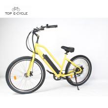 Motocicleta eléctrica del crucero de la playa del comienzo eléctrico del motor de la bicicleta de Chopper