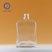 750 ml Glass Square Wine Spirit Bottle