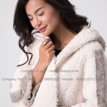 레이디 쇼트 메리노 Shearling Jacket for Women