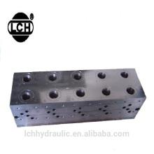 unidades múltiplas do cartucho da imprensa Bloco múltiplo hidráulico industrial