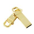 Business Custom Logo Metal Keychain USB Flash Drive