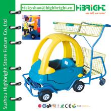 Детская корзина, детская корзина для покупок, тележка для детской тележки супермаркета