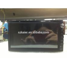 Fábrica! Carro dvd player com link espelho / DVR / TPMS / OBD2 para 6,95 polegadas 4.4 sistema Android Universal