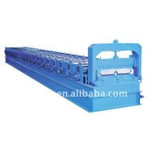 QJ automatic cor aço 820 Ângulo cor aço rolo dá forma à máquina