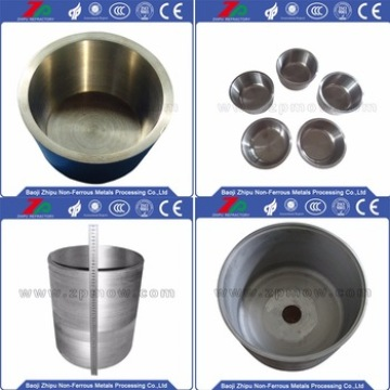 Tantulum crucible for industrial cermic