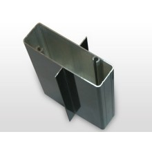 Profilé en aluminium revêtu en aluminium Extrudé Building Profile