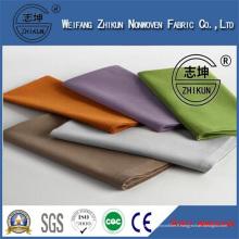 Tissu non tissé imperméable à l'eau utilisé pour le tissu de table