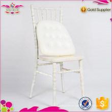 Cadeiras de banquete de pilha chivari madeira chiavari cadeira por atacado