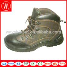 кожаные защитные ботинки с высоким вырезом