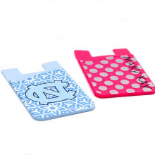 Custom Silicone Card Holder Sleeve for Credit Card