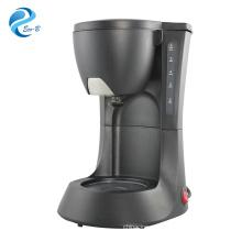 Горячая распродажа, высокое качество, 600 мл, 4-6 чашек, черная капельная электрическая автоматическая кофемашина