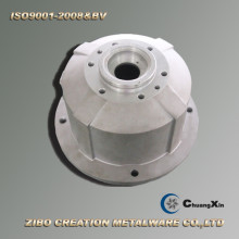 Aluminum Gravity Die Casting Flange Shell for Reducer Gearbox
