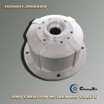 Aluminio Gravedad Die Casting Flange Shell para reductor Caja de cambios