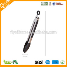 Flexible 12-Inch Stainless-Steel Locking Tongs