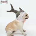 Chapéu de filhote de cachorro de design de tubarão gato chapéu de halloween cosplay boné jove traje do animal de estimação