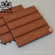 Co-extruded  WPC Composite Decking Boards For Outdoor Floor Covering Lvsenwood Factory On Sale