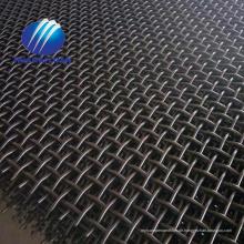 Grubensiebmaschstahl 65Mn vibrierendes Schirmgeflecht mit Hakensteinbrechermasche
