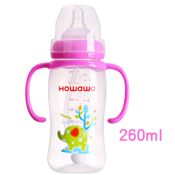 9oz Baby PP Bottle With Handle Baby Nursing