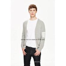 2016 V Neck 100% coton Hommes Cardigan