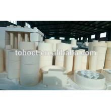 Zirconia cerámica virola de cerámica grande del anillo del tubo del tamaño grande