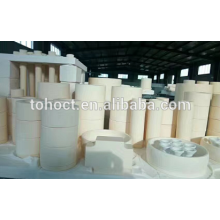 Cerâmica de zircônia grande tamanho grande anel de tubo de cerâmica virola