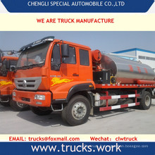 6 x 6 Sinotruk 20000liters bitume liquide camion citerne