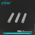 Tubos de ensaio de PP inferior cilíndrico de plástico
