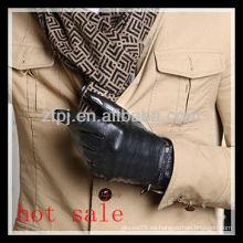 Guantes de cuero de moda para hombres