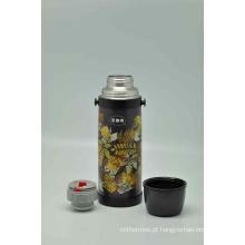 Alta Qualidade 304 Aço Inoxidável Vacuum Flask Parede Dupla Svf-1000e Cinza