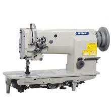 Double Needle Compound Feed Heavy Duty Lockstitch Sewing Machine