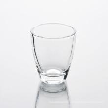 Tasse en verre colorée de gobelet de vin fait sur commande de 50ml buvant