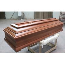 Euro caixão de madeira estilo & caixão/novo caixão de madeira de estilo
