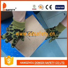 Camuflaje Diseño Guantes De Seguridad De Trabajo Dcd411