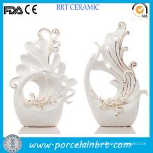 Нежный Свадебный аксессуар ручной работы из керамики ручной работы