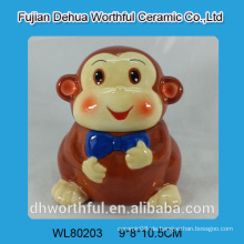 Großhandel Keramik Cookie Glas in Affe Form