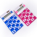 Solar Power 8 Digit Silicone Pocket Calculator